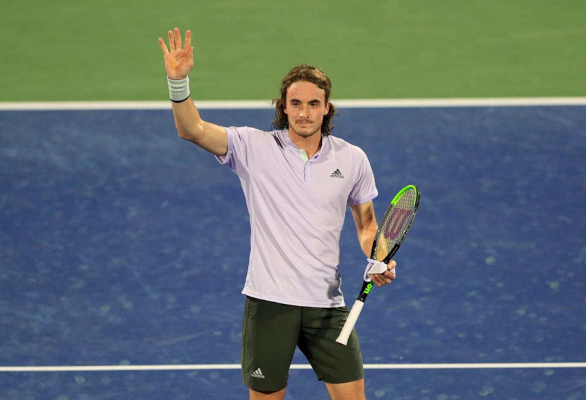 Tsitsipas happy to conserve energy after easing through in Dubai