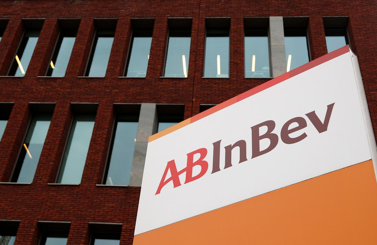 AB InBev fourth quarter profit below expectations, sees muted 2020 growth