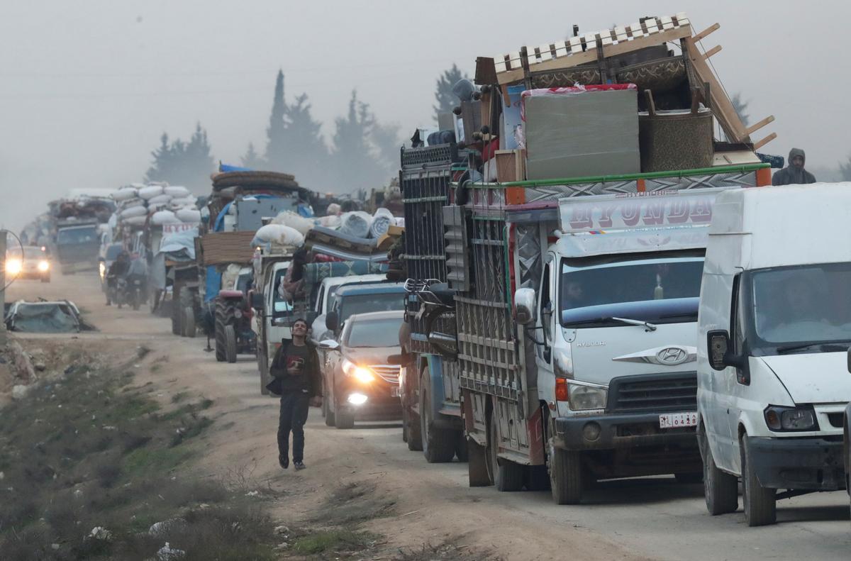 Turkey-backed rebels regain key Syrian town of Saraqeb - opposition