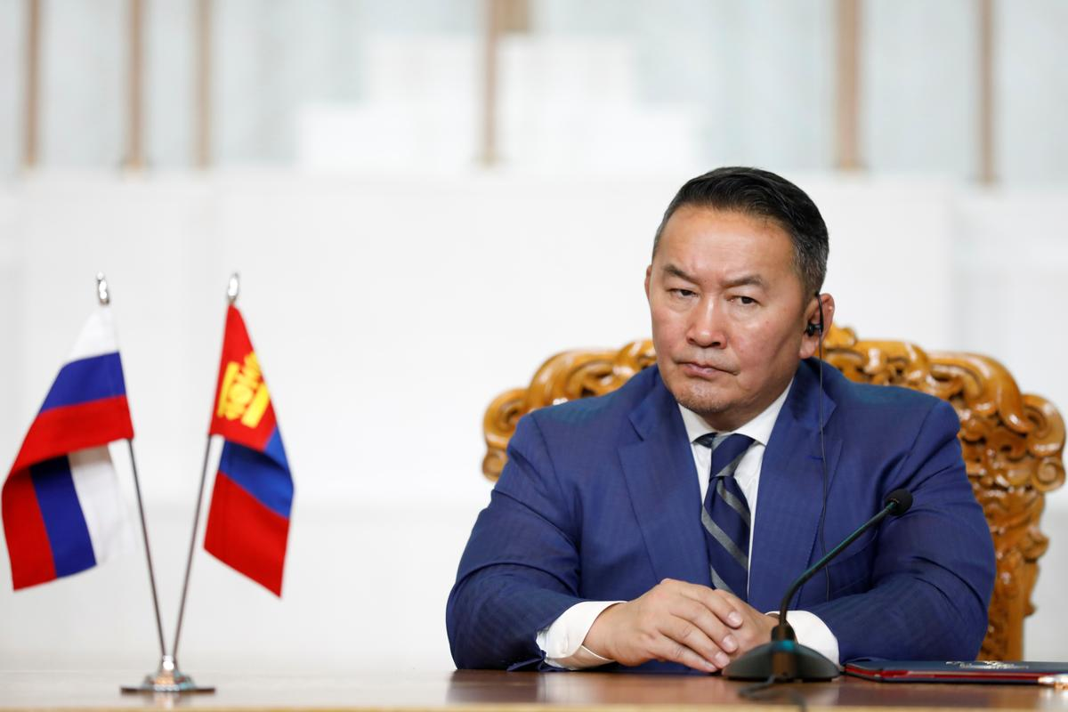 Mongolian president placed under quarantine after returning from China - state media