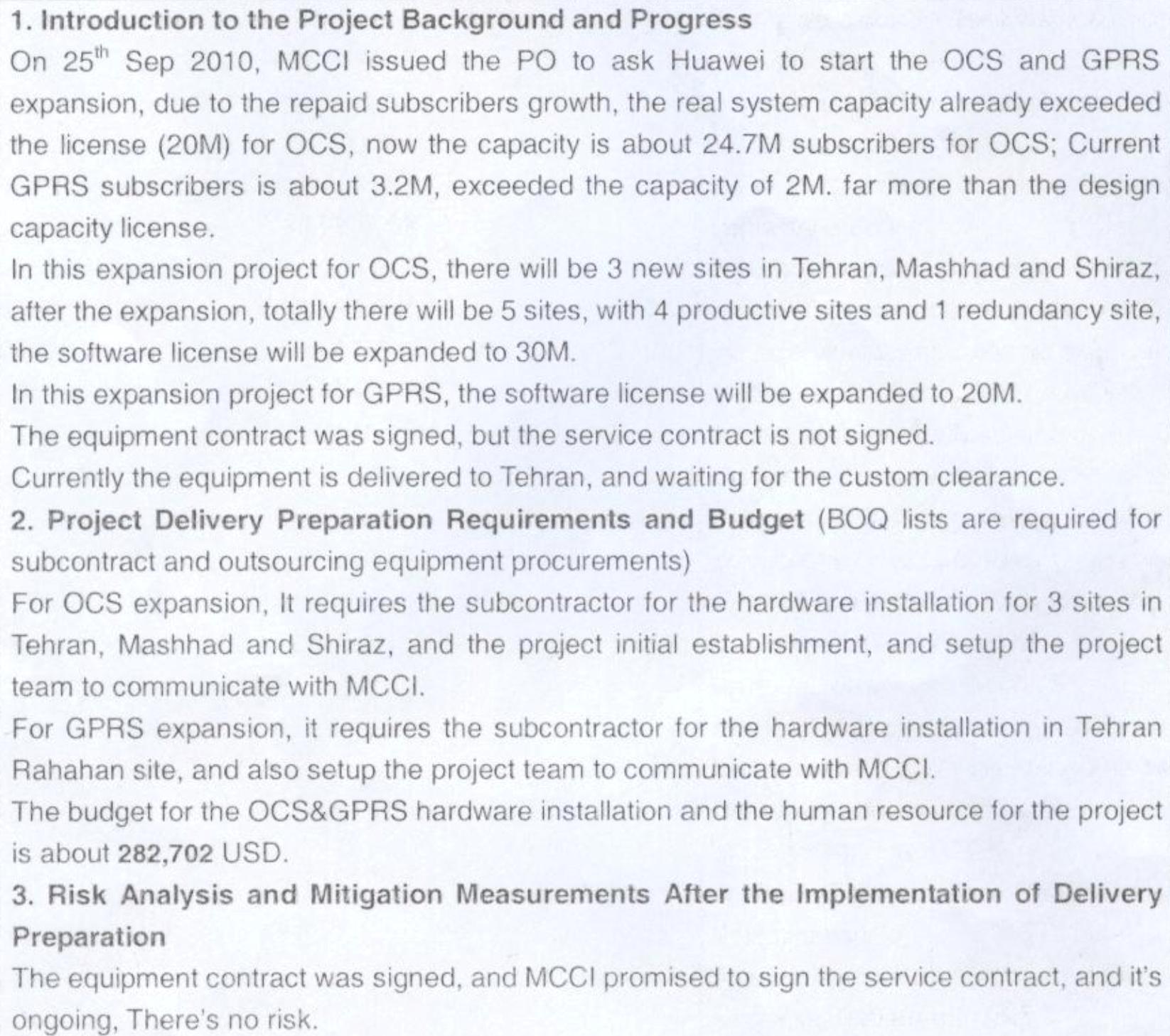 Exclusif: des documents récemment obtenus montrent le rôle de Huawei dans l'expédition de matériel américain interdit vers l'Iran