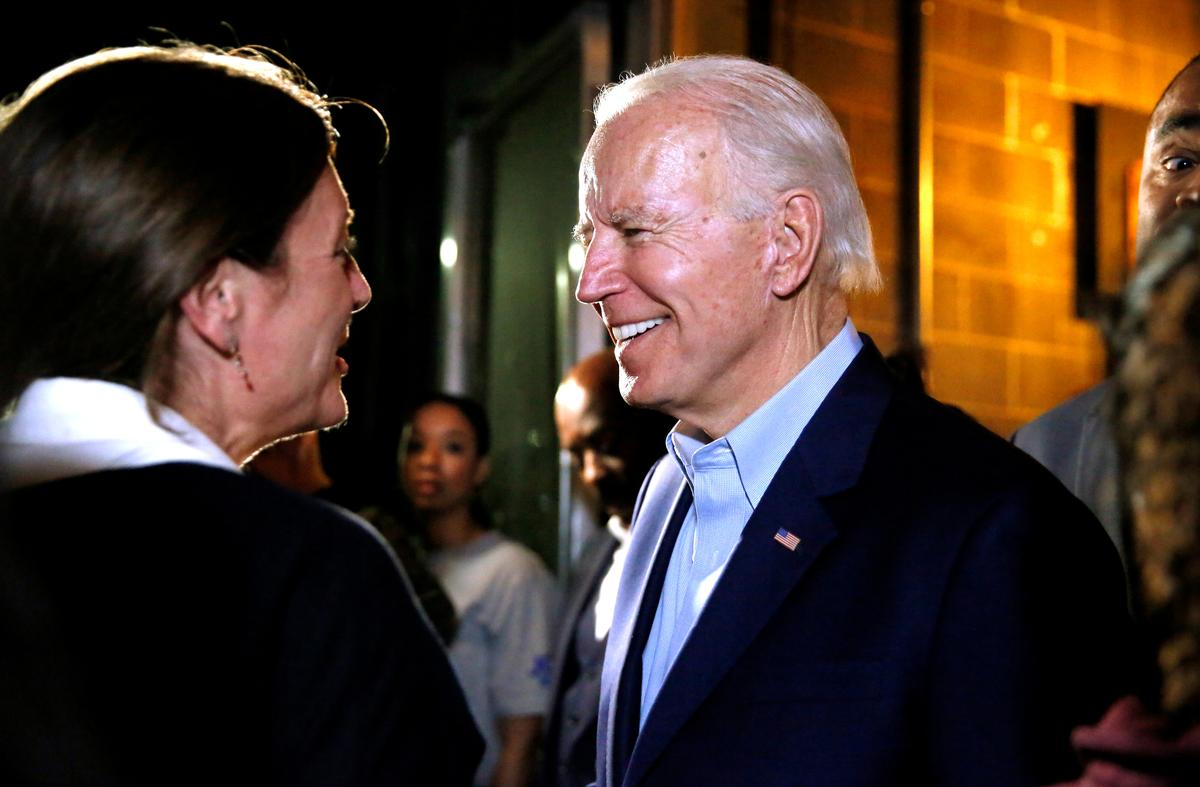 In a Texas chicken joint, Biden and onetime rival Buttigieg unite to stop Sanders