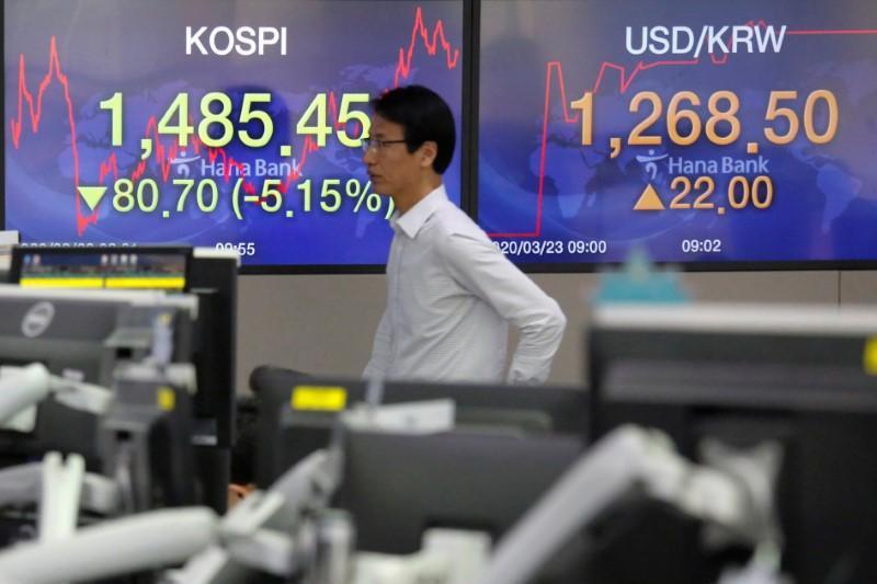 Stocks stagger as more nations self-isolate against virus 1