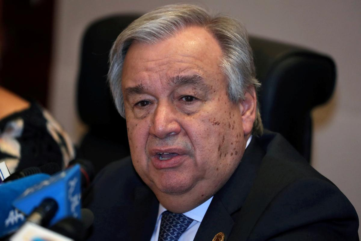 U.N. chief calls for global truce so world can focus on coronavirus