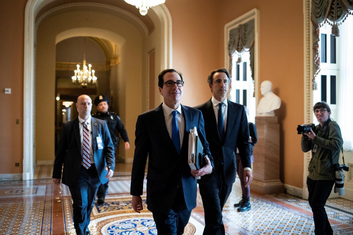 U.S. Congress still awaits $2 trillion coronavirus aid deal