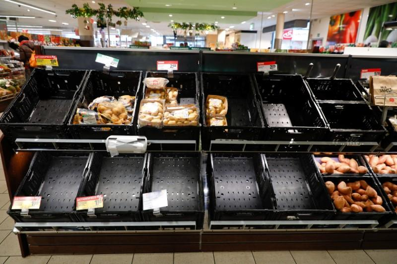 Fresh produce in Europe set to be more scarce as coronavirus strikes