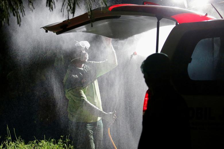 Mass disinfections to combat coronavirus | Reuters.com
