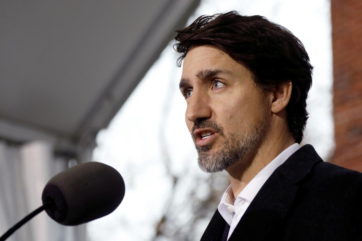Canada's Trudeau wants to recall MPs to back massive coronavirus aid package