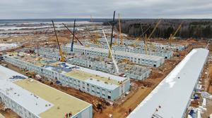 Constructing temporary coronavirus hospitals
