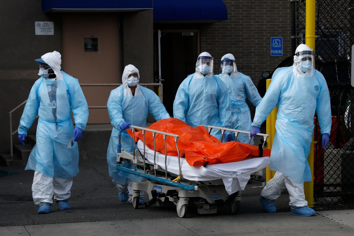 Coronavirus wreaks grimmest toll yet in New York state: 630 dead in a day