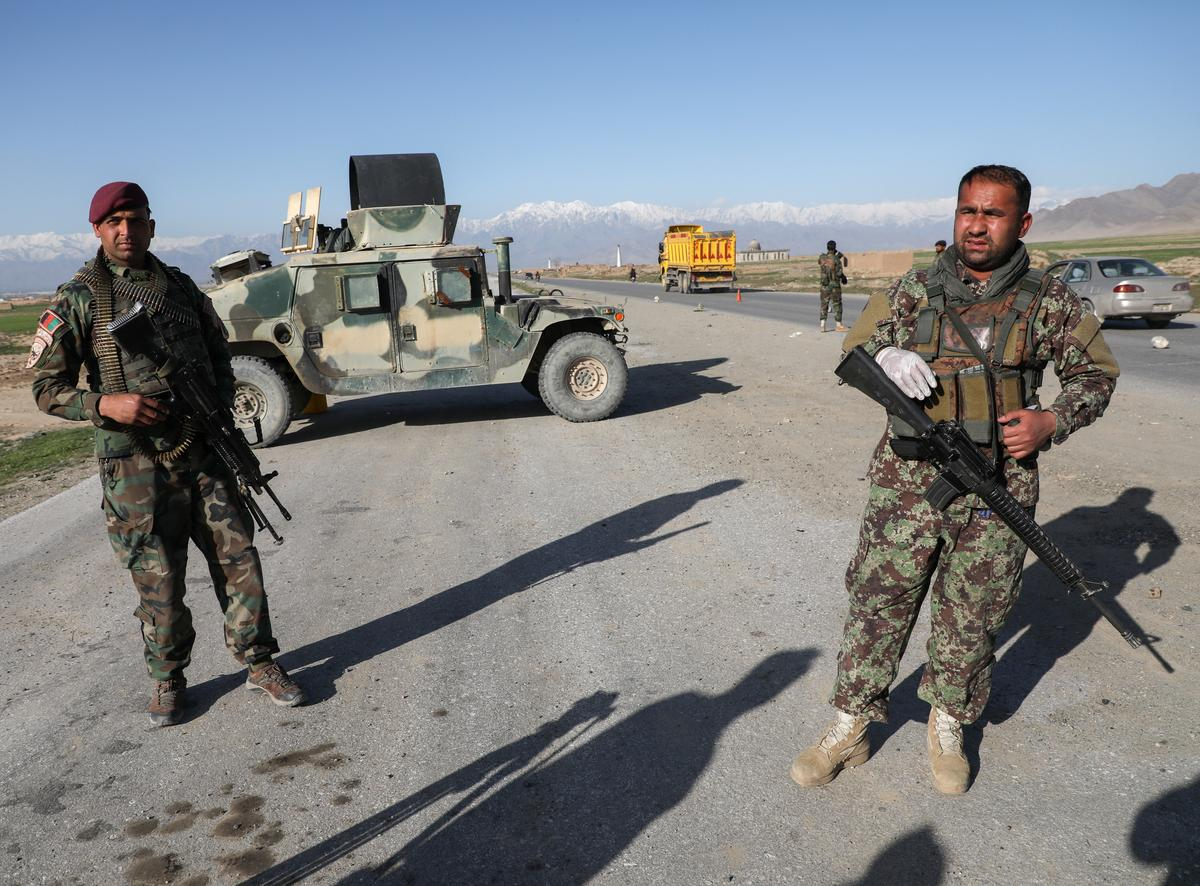 Exclusive: Planned $1 billion U.S. aid cut would hit Afghan security force funds