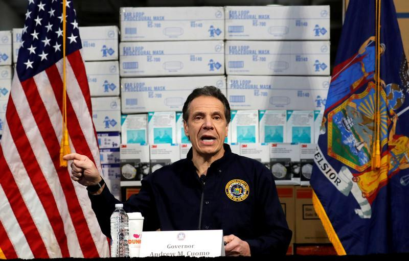 Cuomo de New York voit la crise des coronavirus ralentir malgré un nombre record de morts par jour