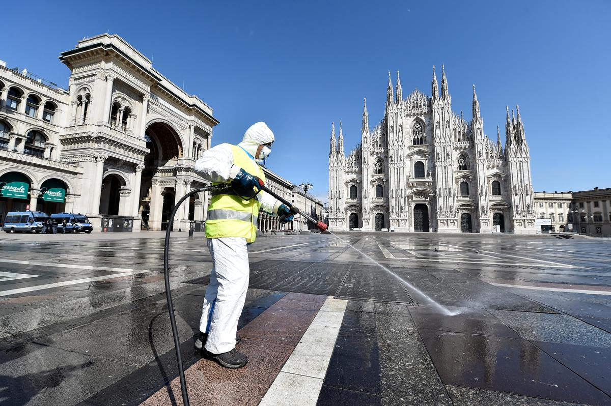Italy working on coronavirus tracing app to help lockdown exit