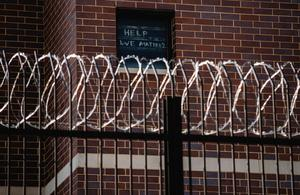 Prisoners at risk for infection in coronavirus pandemic