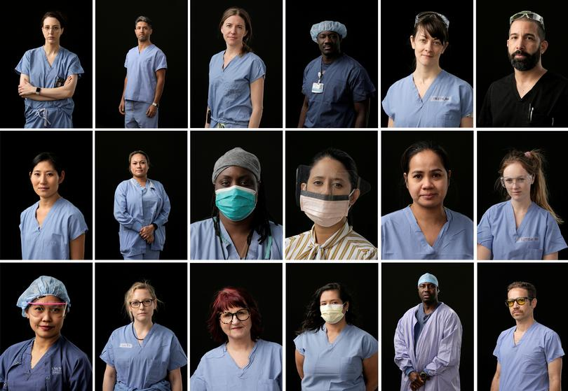 Faces of Seattle's coronavirus frontline | Pictures | Reuters