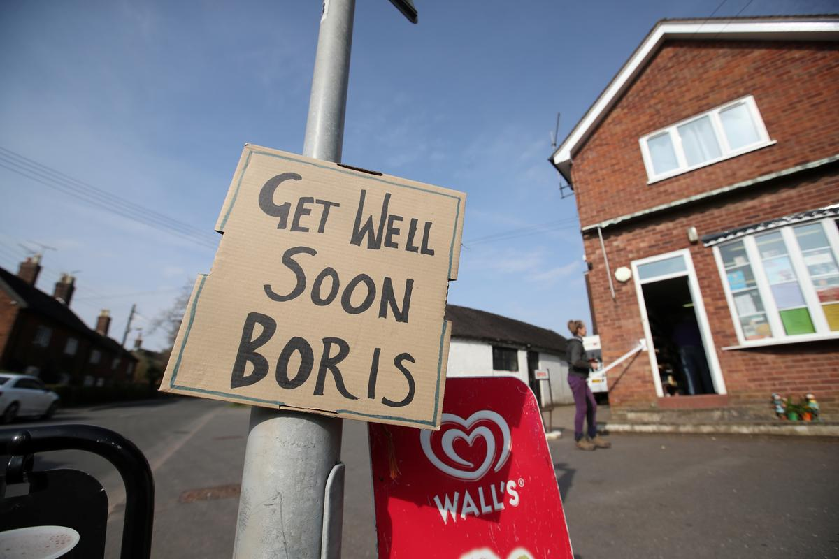PM Johnson recovering from COVID-19 as Britons told to shun outdoors