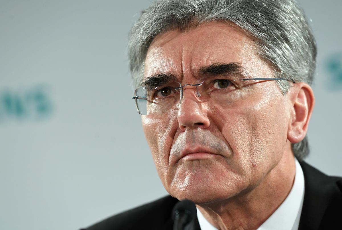 Siemens CEO rules out job cuts from coronavirus impact