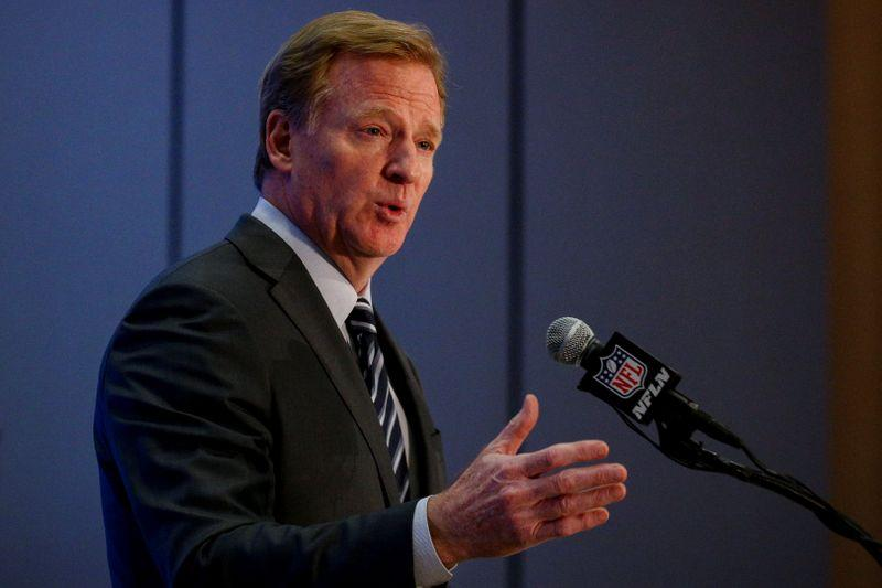 Roger Goodell Responds to NFL Players Black Lives Matter Protests