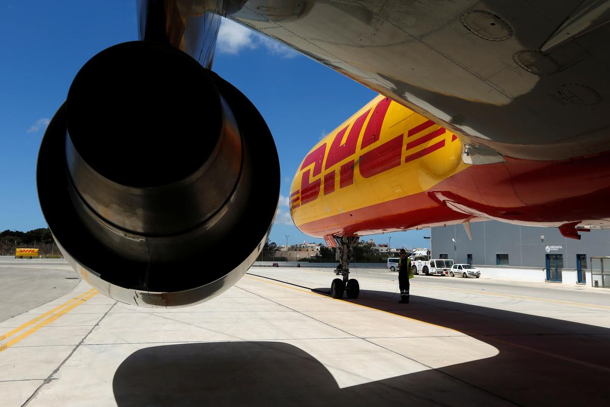 DHL struggles to cope as online parcel volumes surge
