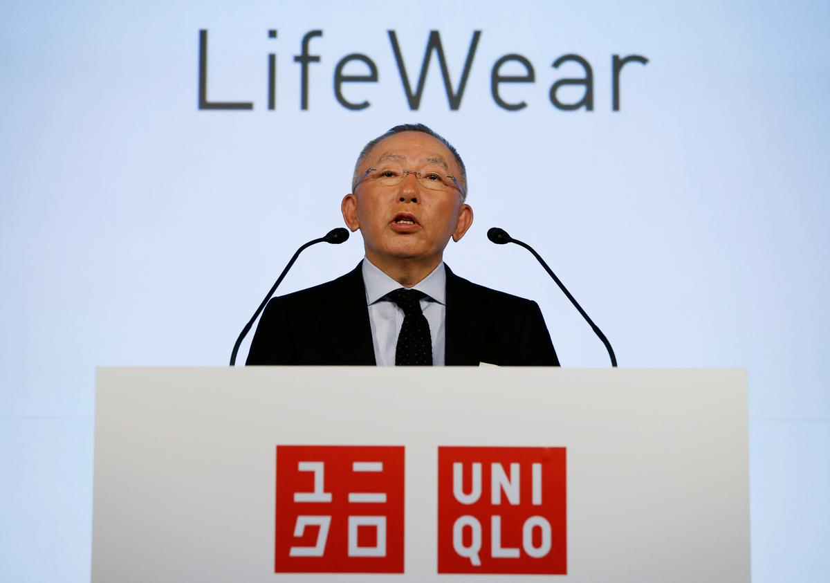 Fast Retailing CEO criticises Japan's lack of virus tests: report