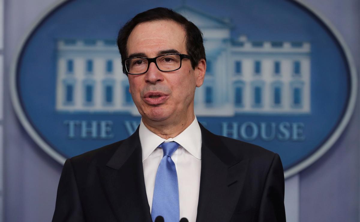 U.S.'s Mnuchin considers lending program for struggling oil companies: Bloomberg News
