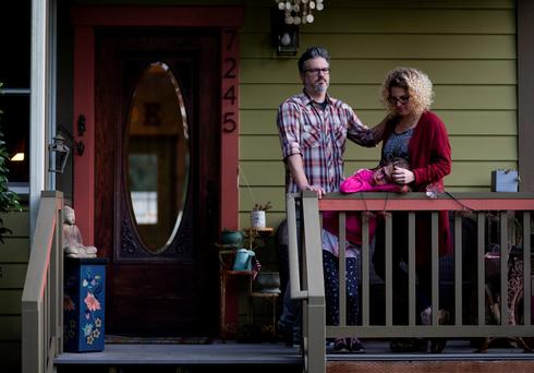 Portraits of Seattle-area residents in isolation