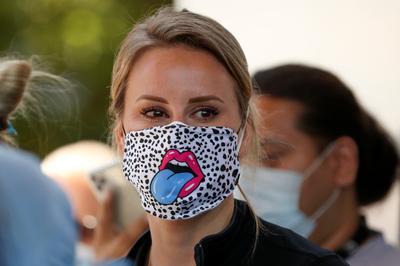 Coronavirus couture: Custom face masks around the world
