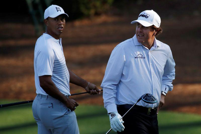 Woods, Mickelson, Manning and Brady showdown set for May 24