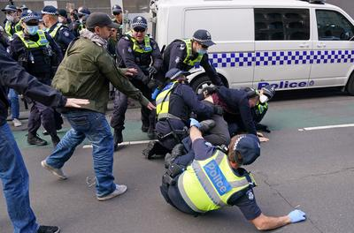 Anti-lockdown protests around the world