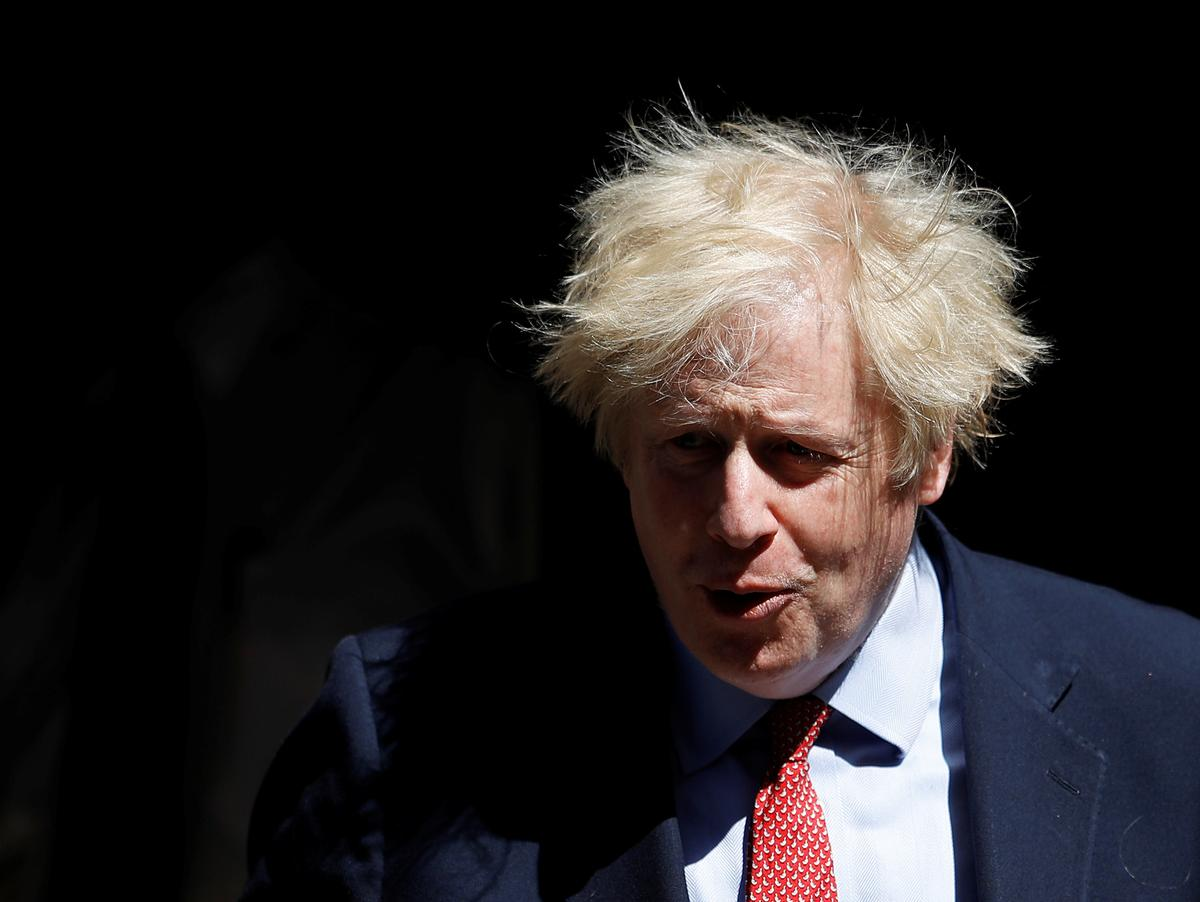 UK PM Johnson will not face criminal action over links to U.S. businesswoman