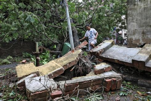 Cyclone Amphan wreaks havoc in India