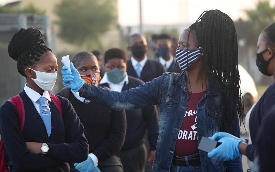 Schools reopen in South Africa as parents worry about safeguards ...