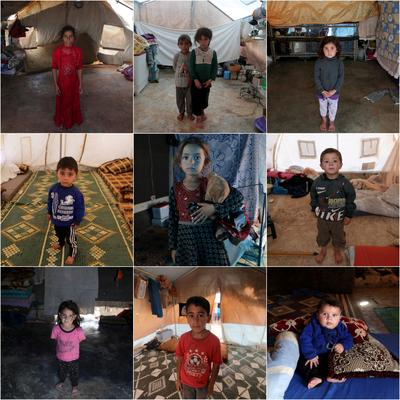 Nine years of Syrian war, nine kids who dream of home