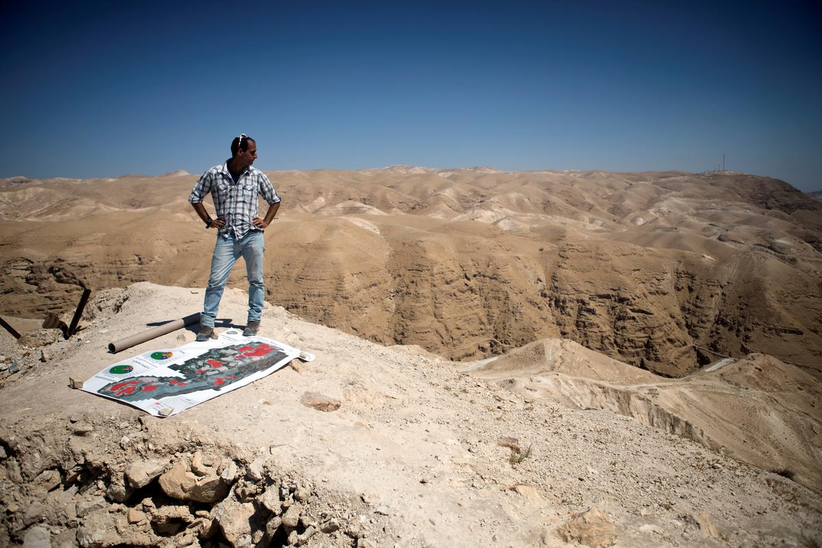 Israeli campaigners want Jewish ruins included in West Bank annexations