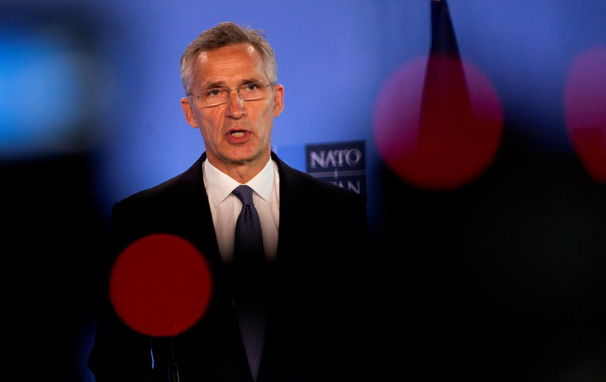 China 'does not share our values', NATO chief says