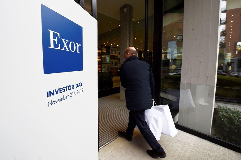 Exor raises stake in Italian publisher GEDI to over 90%