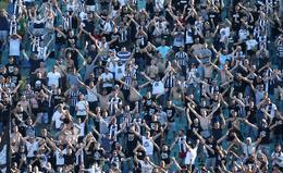 Thousands of soccer fans break social distancing rules in Bulgaria