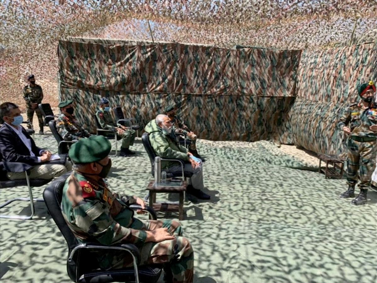India's Modi visits Himalayan border where troops clashed with China – Reuters