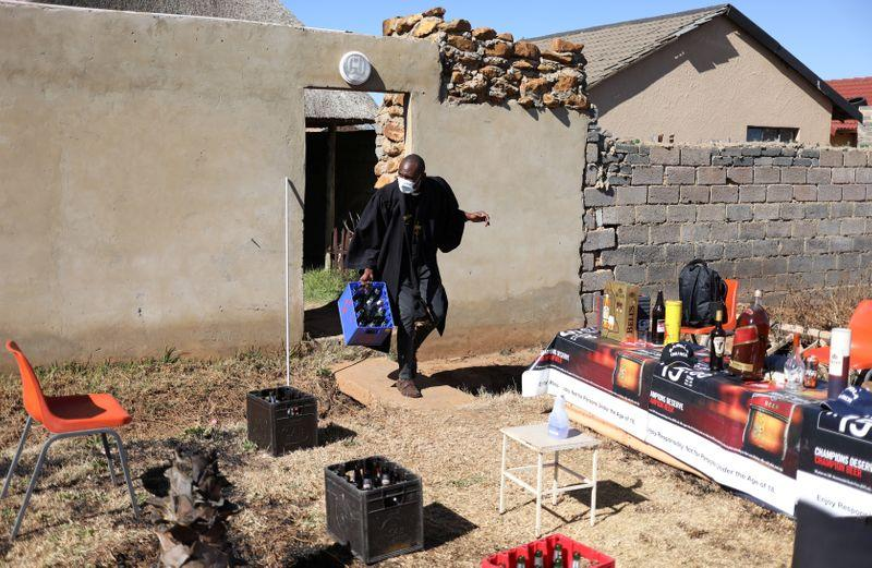 South Africa's boozy church struggles with COVID lockdown rules