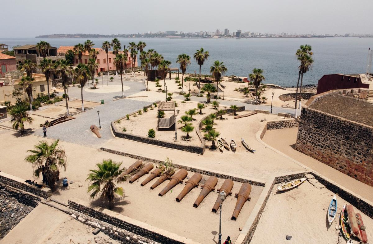 Senegal slave island, moved by George Floyd's death, renames Europe Square