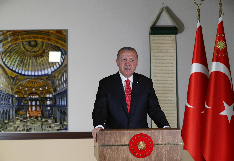 Erdogan declares Hagia Sophia a mosque after Turkish court ruling 20