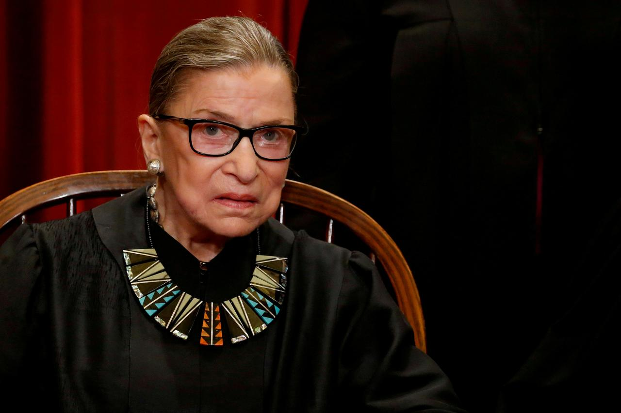 U.S. Supreme Court Justice Ginsburg Undergoes Non-surgical Bile Duct Procedure in NY Hospital