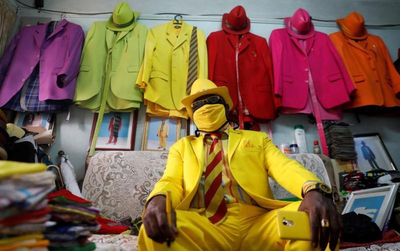 Snazzy Face Mask Fashion Reaches Nairobi Neighbourhood Aydintepemedya Com