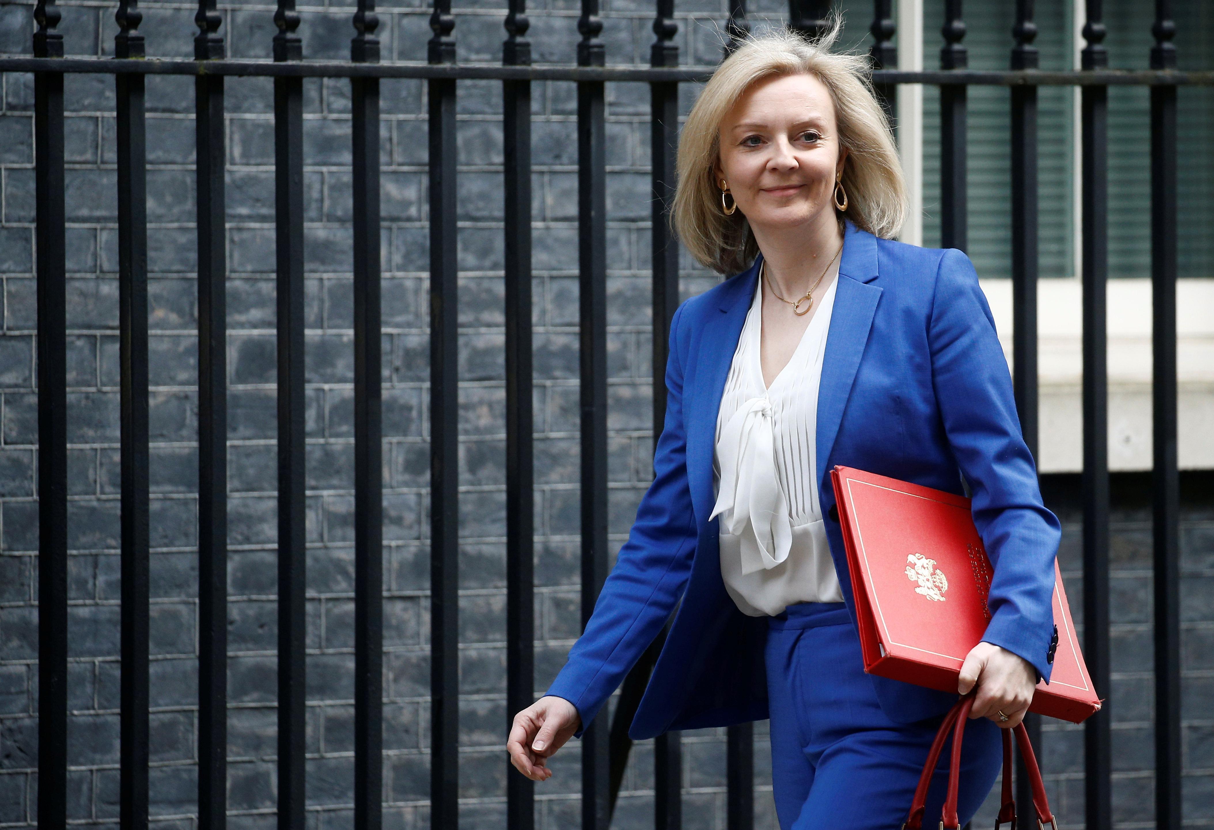 British trade minister to meet top U.S. officials next week, USTR says