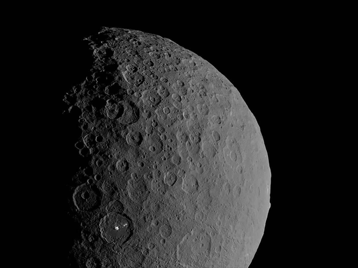 Dwarf planet Ceres is 'ocean world' with salty water deep underground – Reuters India