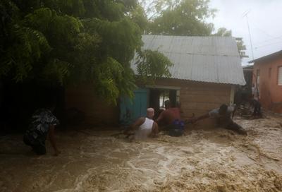 Tropical Storm Laura batters Caribbean