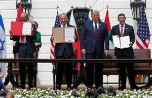 UAE and Bahrain sign U.S.-brokered deals with Israel