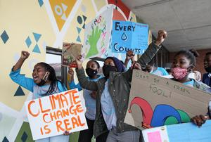 Youth stage global climate strike