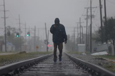 Hurricane Delta makes landfall on storm-weary Louisiana coast