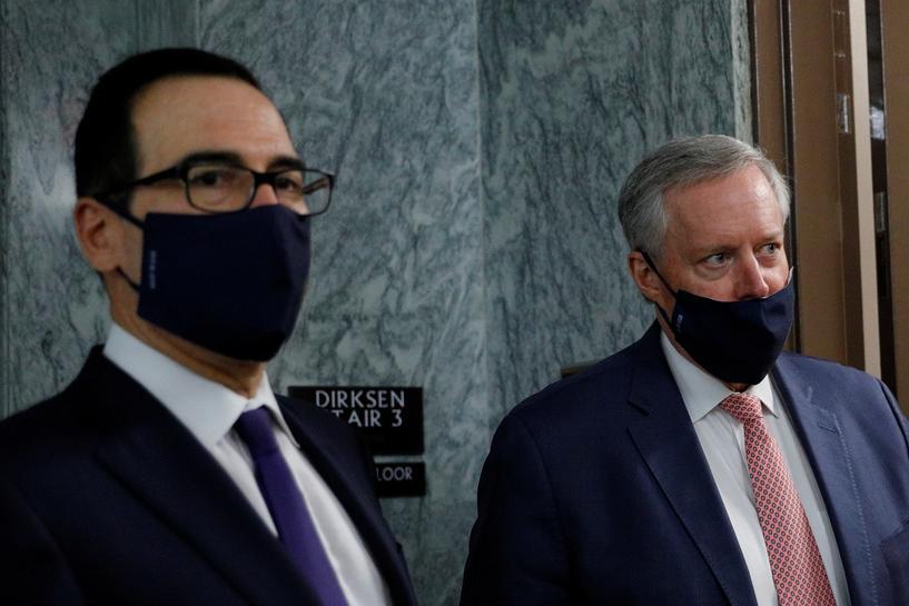 White House seeks limited coronavirus relief bill, promises further talks  on broader stimulus   Reuters
